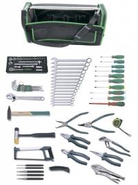 C-HA78S Набор инструмента универсальный в сумке, 78 предметов / 49029